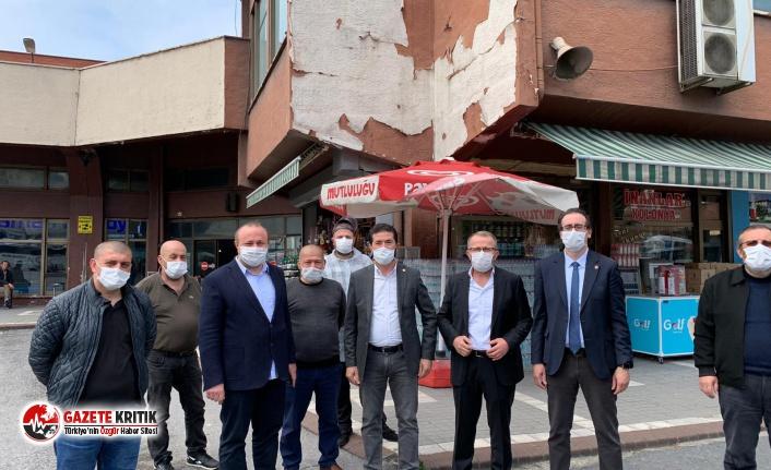 "CHP'Lİ AHMET KAYA: ""METRUK HALDEKİ TERMİNAL..."