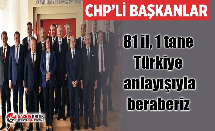 CHP'li büyükşehir belediye başkanlarından ortak...