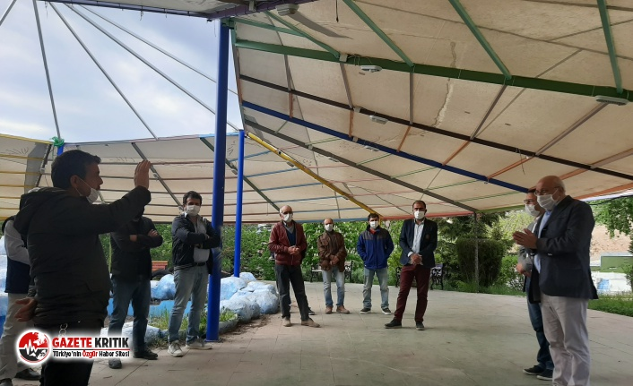 """CHP'li Çakırözer:  """"Yüzbinlerce inşaat işçisine salgın döneminde devlet sahip çıkmadı"""""""