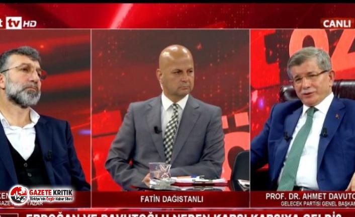 Davutoğlu'dan çarpıcı iddia: Emekliye sevki...