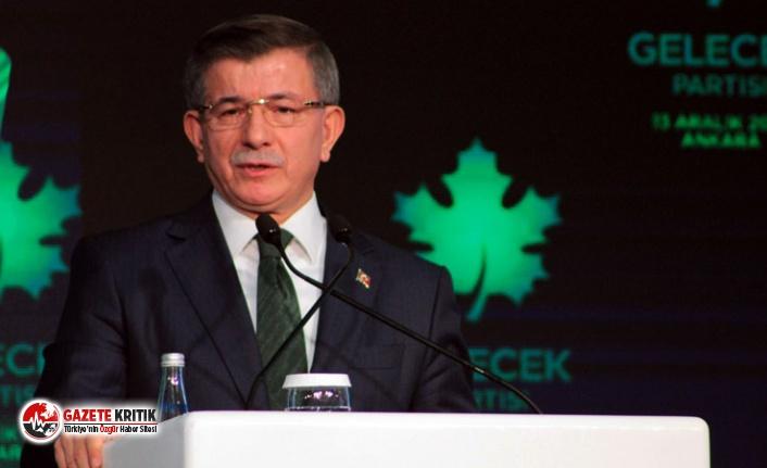 Davutoğlu'ndan 17 Nisan referandumu itirafı:...