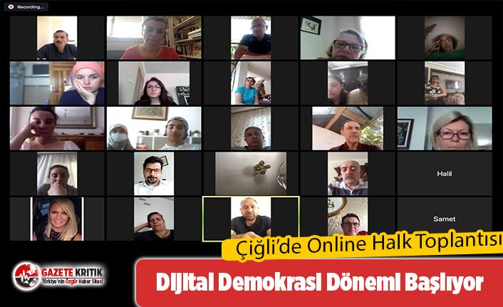 Dijital Demokrasi Dönemi Çiğli'den start aldı