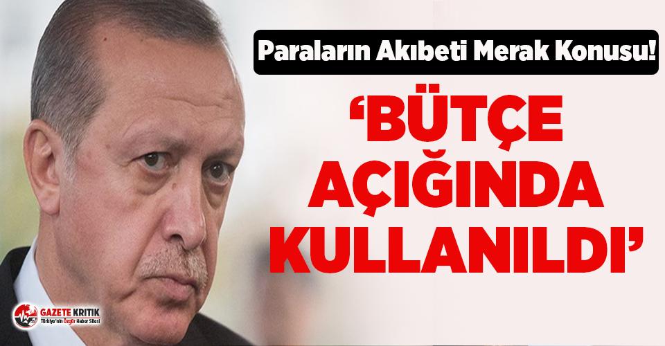 Erdoğan'ın bağış kampanyasında toplanan paraların akıbetiyle ilgili dikkat çeken iddia