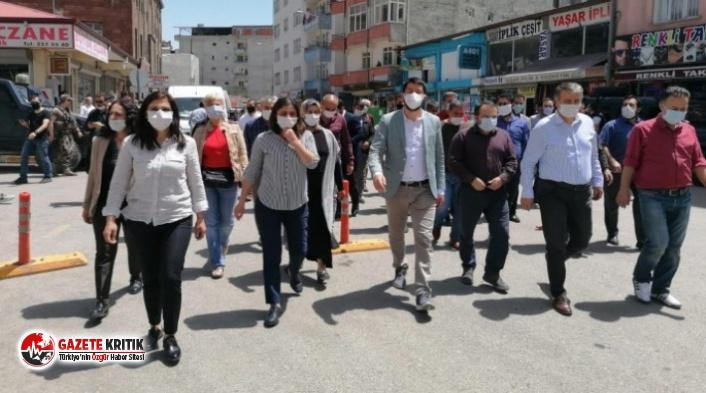 Iğdır'da kayyum protestosu: 'Talan etmek...
