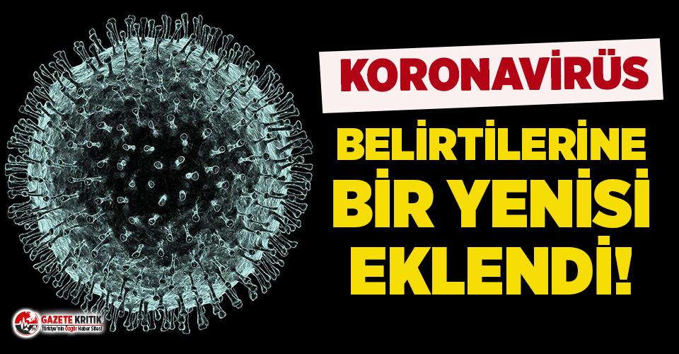 İngiltere koronavirüs belirtilerine yenisini ekledi