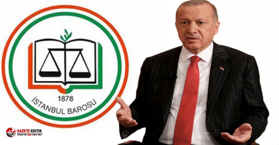 İstanbul Barosu'ndan Saray'a karşı hukuk...