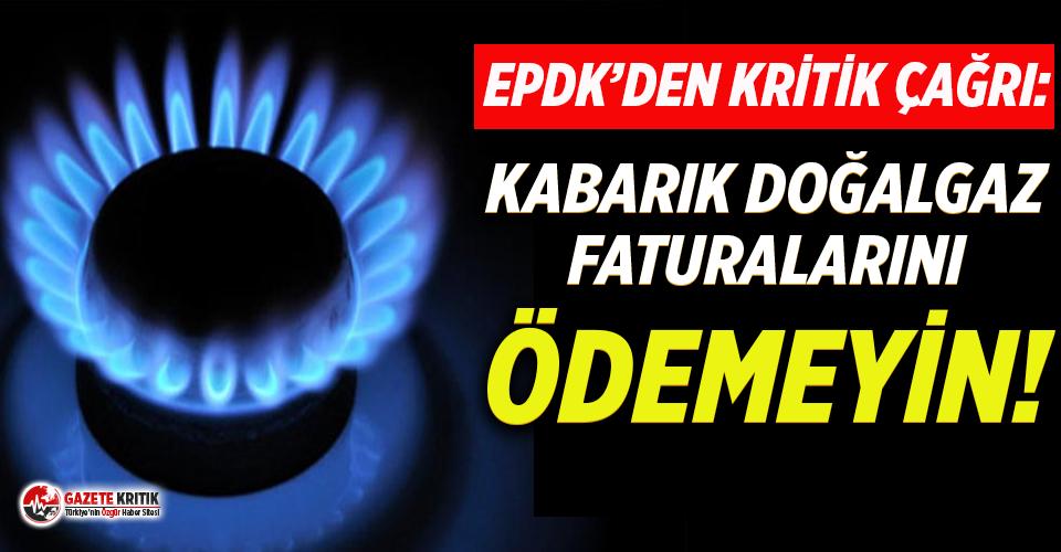 Kabarık doğalgaz faturaları için kritik çağrı:...