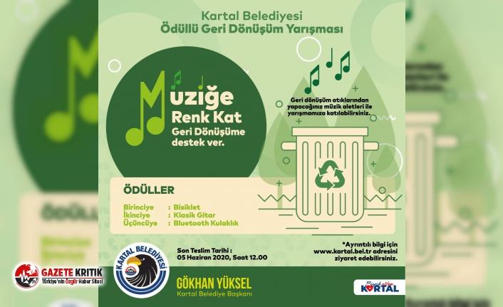 """Kartal Belediyesi, Ödüllü Geri Dönüşüm Yarışması ile Doğaya """"Ses"""" Veriyor"""
