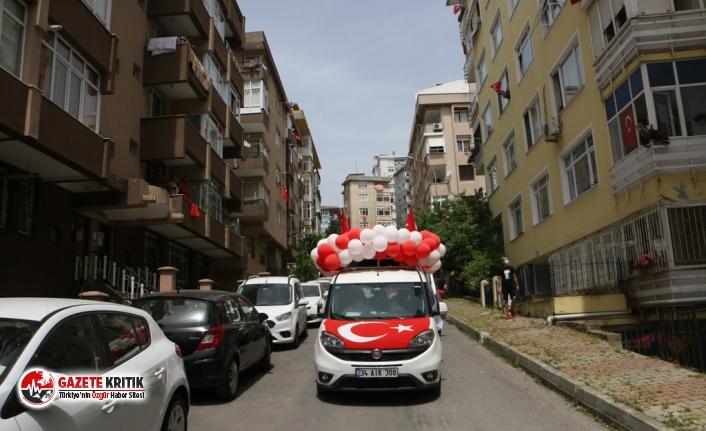Kartal'da Sokağa Çıkma Yasağı, 19 Mayıs Coşkusuna...