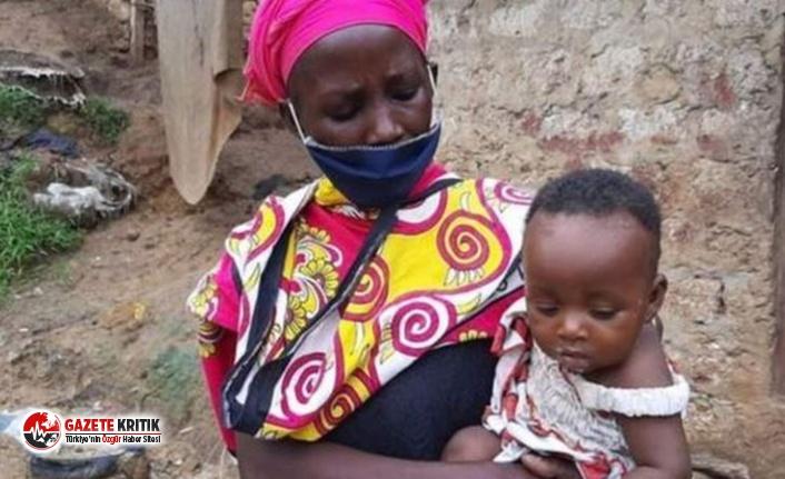 Kenya'da ocakta taş kaynatarak çocuklarını...