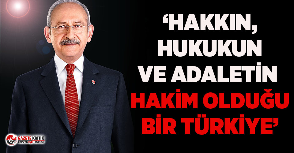 Kılıçdaroğlu'ndan bayram mesajı: Haksızlık...