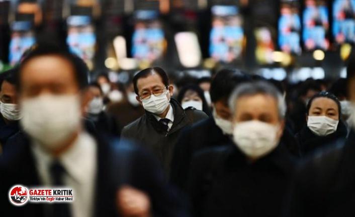 Koronavirüs vakalarının azaldığı Japonya'da...