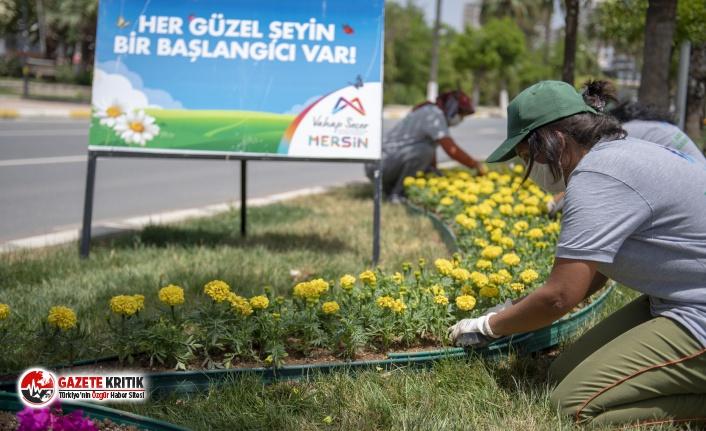 """MERSİN'DE """"GÜZEL ŞEYLERİN BAŞLANGICI"""" KADINLARIN..."""