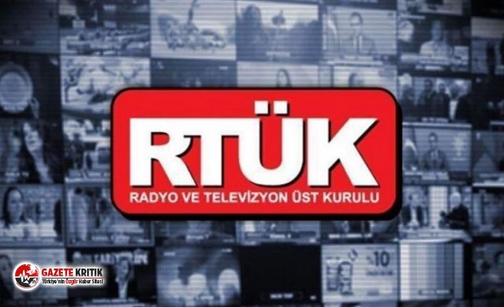 RTÜK'ün sicili: Yandaşlara uyarı, muhalif...