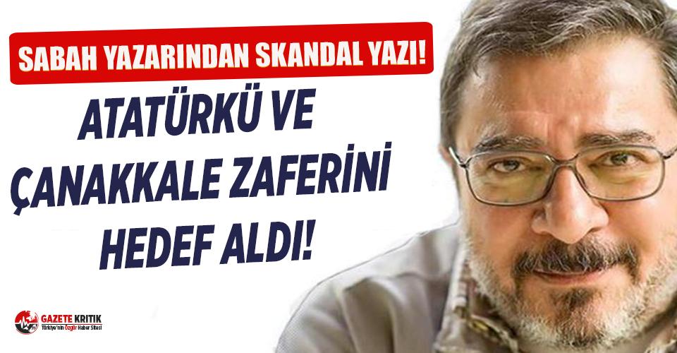 Sabah yazarı Engin Ardıç'tan skandal yazı:...