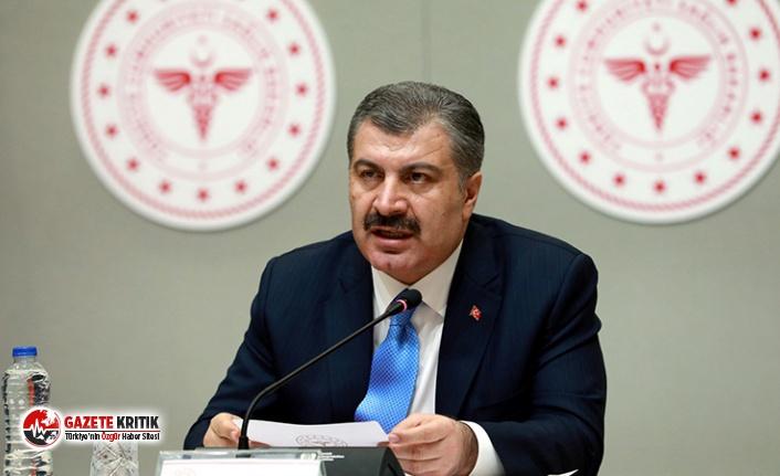 Sağlık Bakanı Fahrettin Koca: Bir süre daha tedbirlerimize...