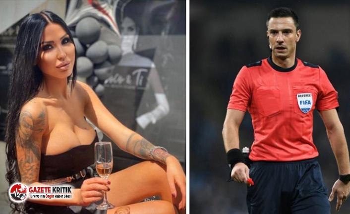 Seks partisinde yakalanan FIFA kokartlı hakemden ilginç savunma: Oraya iş yemeği için gitmiştim