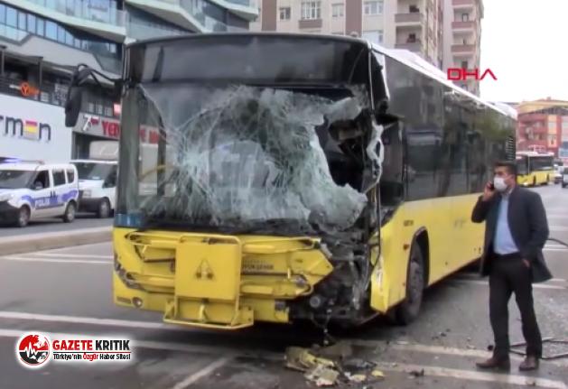 Son dakika… İstanbul'da İETT otobüsü ile tanker...