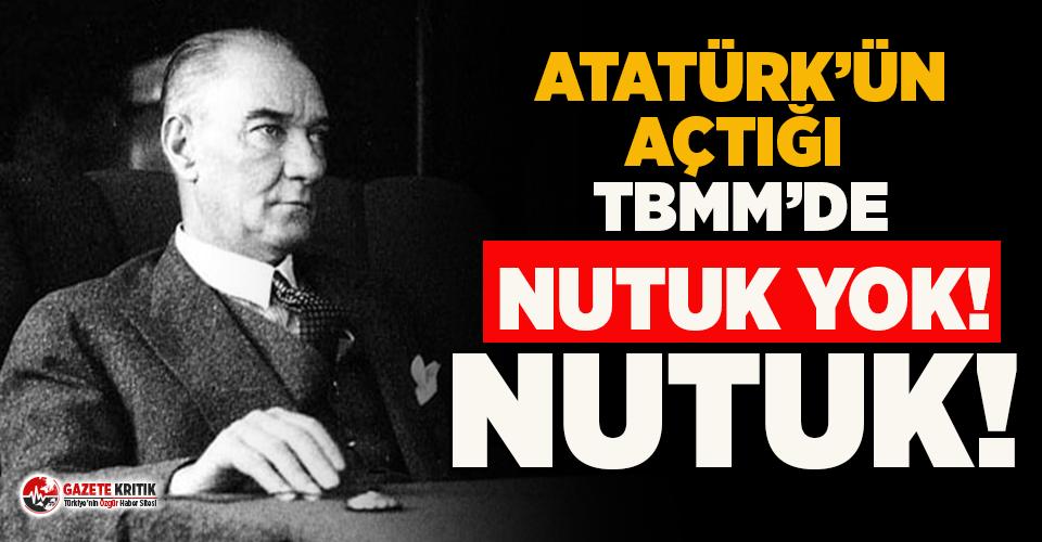 TBMM'nin kütüphanesinde Nutuk'un Türkçesi olmadığı ortaya çıktı