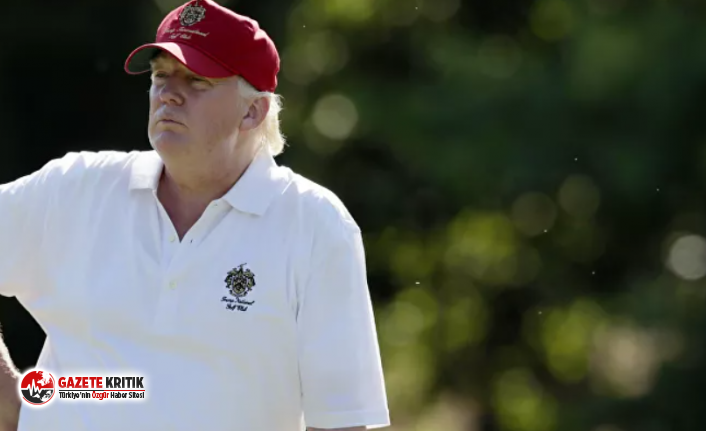 Trump'a golf tepkisi!