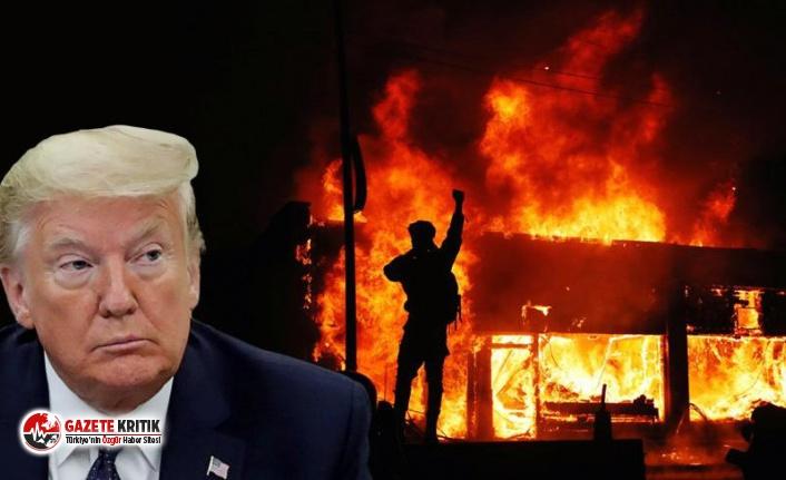Trump'tan George Floyd protestolarıyla ilgili yeni hamle: 'Terör örgütü' ilan etti