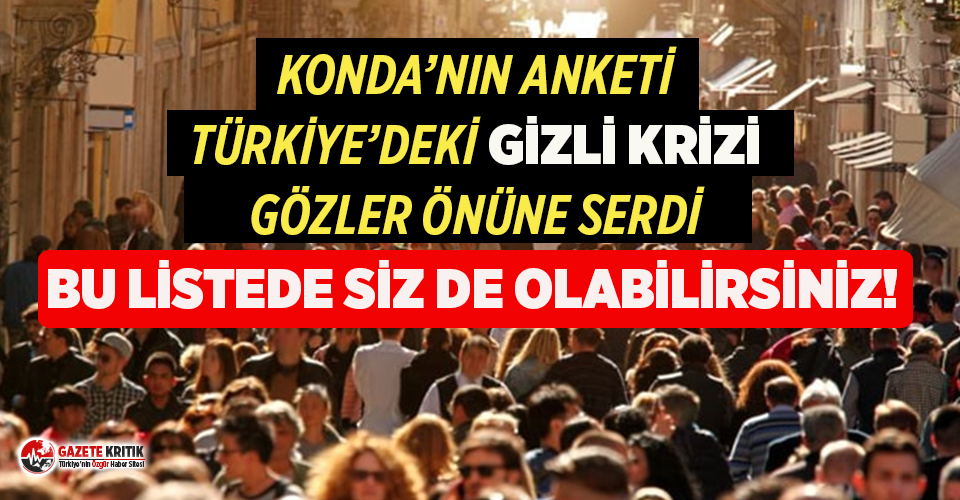 Türkiye'de kendisini 2. sınıf vatandaş hissedenlerin...