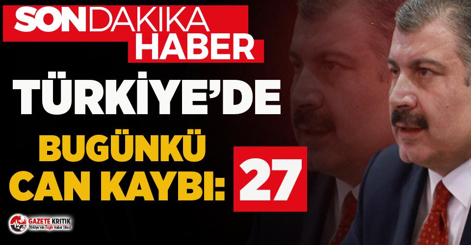 Türkiye'nin 22 Mayıs Koronavirüs son durum...