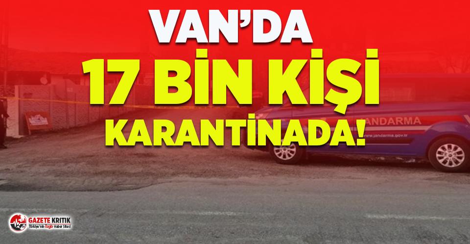 Van'da gizli taziyeler sebebiyle 17 bin kişi...