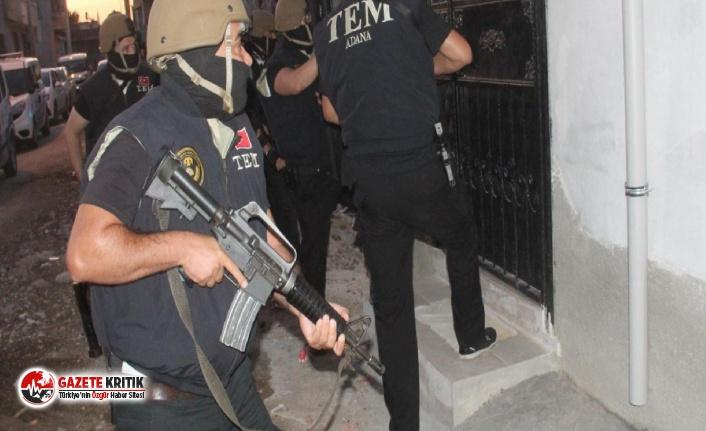 Adana'da PKK operasyonu! 10 kişi gözaltına...