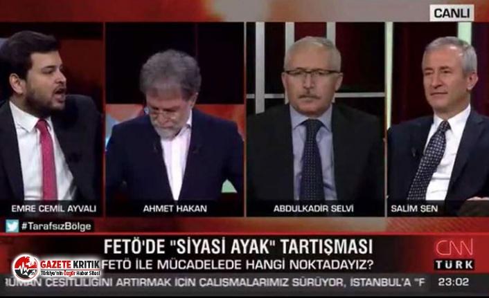 Ahmet Hakan AKP'li ismin FETÖ itirafına kalkan...