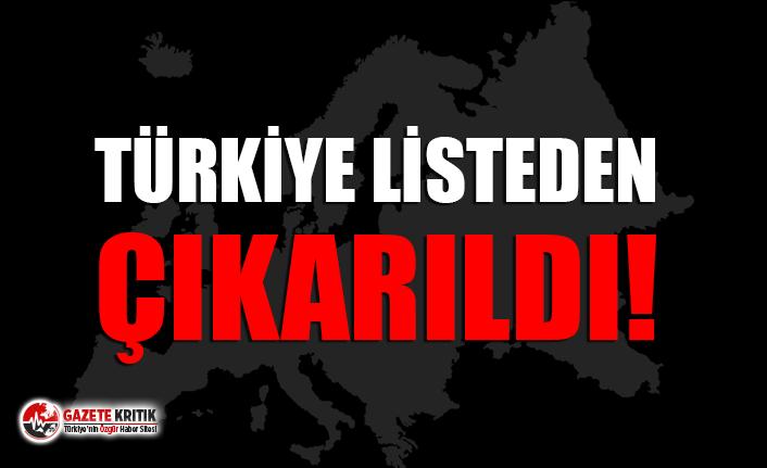 Avrupa Birliği Türkiye'yi taslak listeden çıkardı!