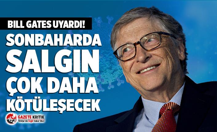 Bill Gates'ten Koronavirüs uyarısı!