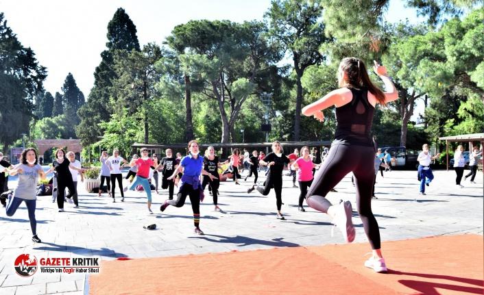 Bornova'da kadınlara yönelik spor kursları açık...