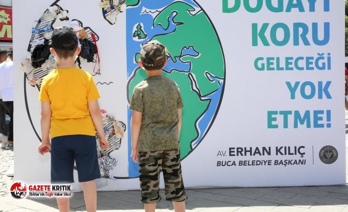 Çevre Günü'nde örnek proje: Çöpler dünyayı...