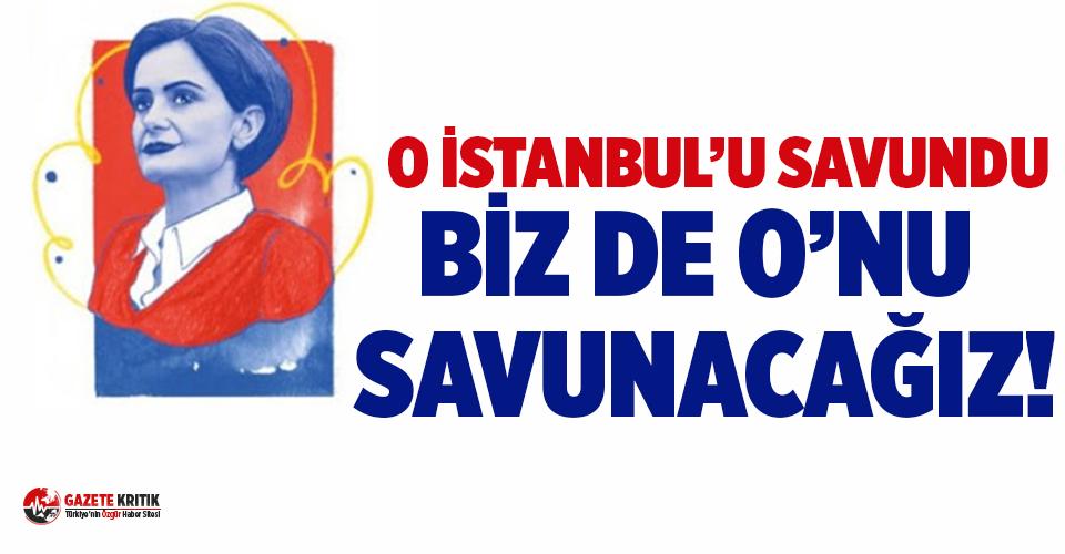CHP İstanbul Milletvekillerinden Kaftancıoğlu'na...