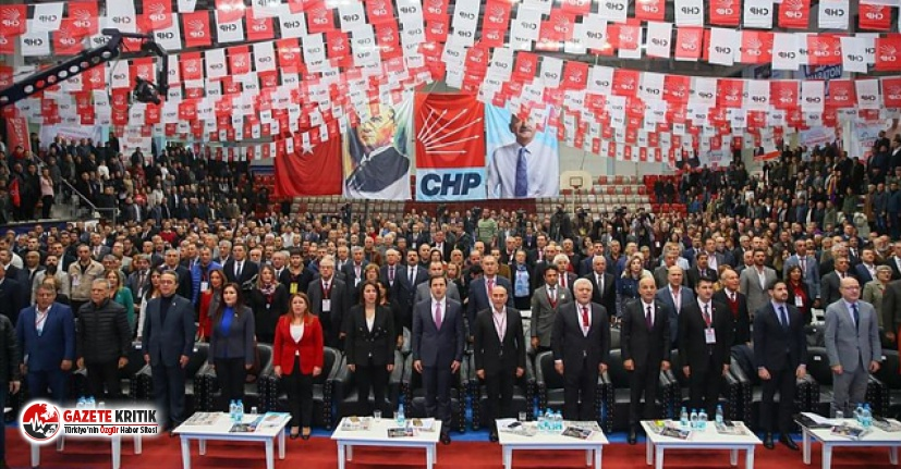 CHP Kurultayı'nın ileri tarihte yapılması için...