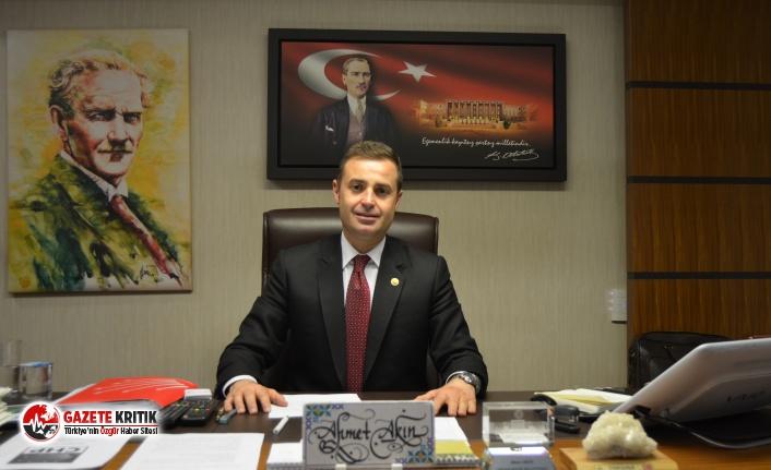 CHP'li Ahmet Akın:Doğayı ranta kurban edemeyiz!