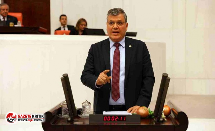 """CHP'li Barut:""""Yandaşın çarkı dönüyor,..."""