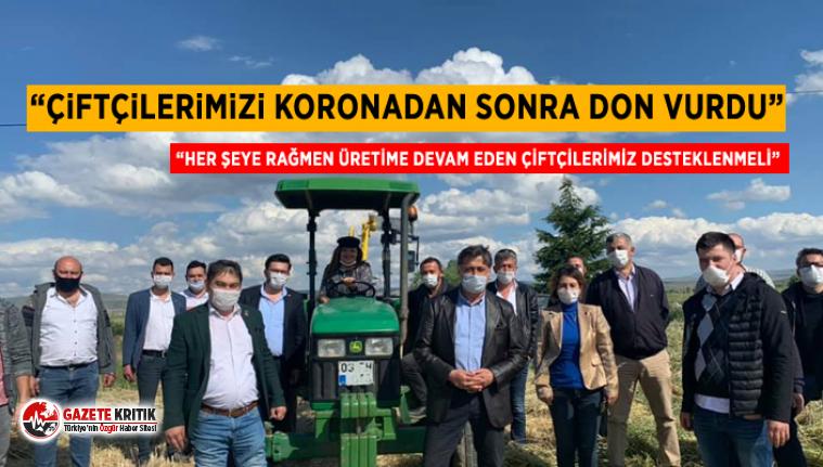 CHP'li Burcu Köksal: Çiftçilerimizi koronadan...