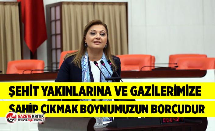 CHP'li Burcu Köksal terör mağdurları için...