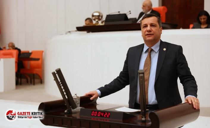 CHP'li Ceylan:İşcinin hak araması ahlaksızlık...