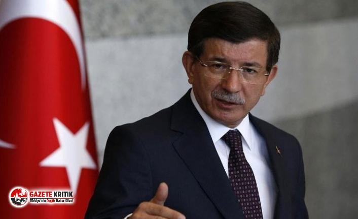 Davutoğlu'ndan sokağa çıkma yasağının iptal edilmesine tepki: Ciddi bir yönetim krizi var
