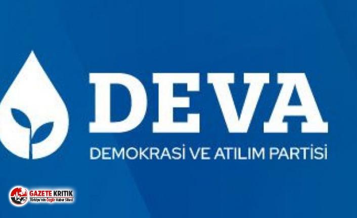 DEVA Partisi:Sürdürülebilir Kalkınmayı Ancak...