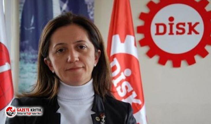DİSK Başkanı Arzu Çerkezoğlu: Kıdem tazminatı...
