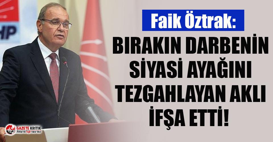 Faik Öztrak'tan savcılara Emre Cemil Ayvalı...