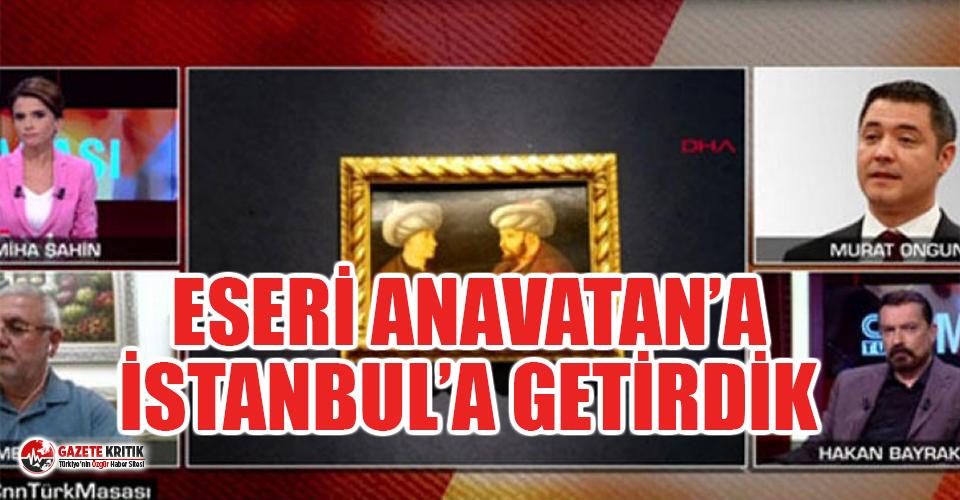 Fatih Sultan Mehmet'in tablosunu İBB'nin almasını eleştirenlere tokat gibi yanıt!