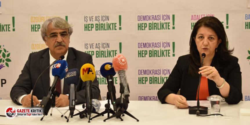 HDP yeni dönem siyasetini açıkladı