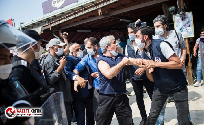 HDP yürüyüşünde 11 kişi gözaltına alındı
