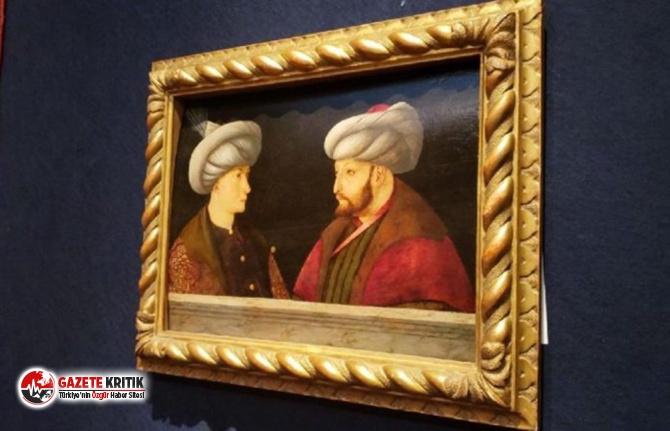 İBB'nin aldığı Fatih Sultan Mehmet portresinin...