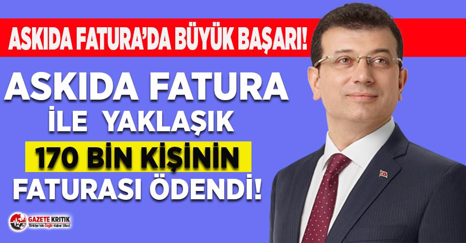 İBB Sözcüsü Murat Ongun açıkladı: Askıda fatura...
